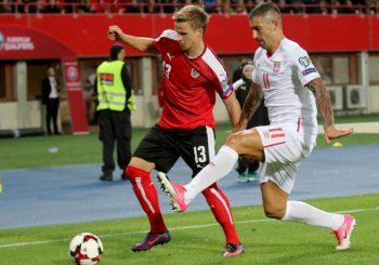 """Srbija izgubila od Austrije, """"Orlovi"""" u ponedjeljak protiv Gruzije"""