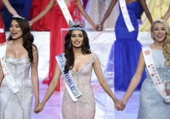 Indijska ljepotica Manuši Čhilar je Mis svijeta 2017