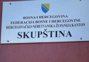 Skupština HNK: Konstitutivnost Srba ponovo nije mogla na dnevni red