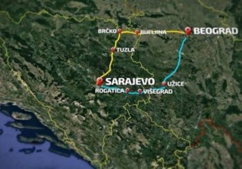 Mani pare i asfalt, daj trasu: Beograd – Sarajevo, autoput kojeg nema