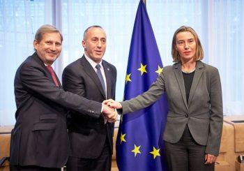 Mogerinijeva napustila sastanak s Haradinajem zbog uvrede?