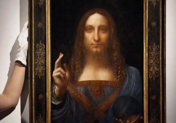 """Salvator Mundi"" prodat za 450, 3 miliona dolara"