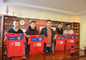 FK Borac predstavio četiri nova igrača, cilj - plasman među prvih šest