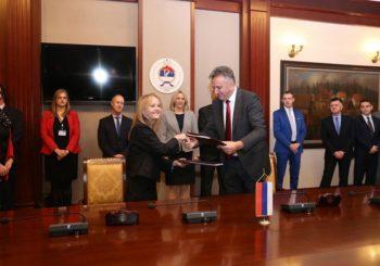 """""""Autoputevi RS"""" i EBRD potpisali ugovor: Kredit od 70 miliona evra za dionicu koridora 5C"""