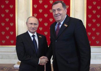 NAJAVIO PUT U SANKT PETERBURG Dodik u petak s Putinom