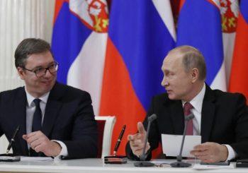 SASTANAK S PUTINOM Vučić počinje dvodnevnu posjetu Moskvi