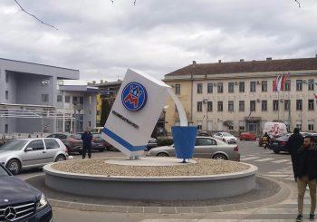Mlijekoproduktova donacija: Novi kružni tok u centru Kozarske Dubice