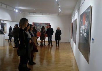 U Andrićgradu otvorena izložba slika Petra Lubarde, platna pred publikom do 10. februara