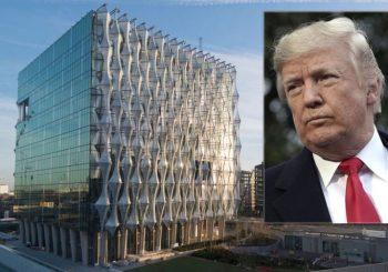 Tramp odustao od posjete Londonu, ne sviđa mu se zgrada nove ambasade SAD