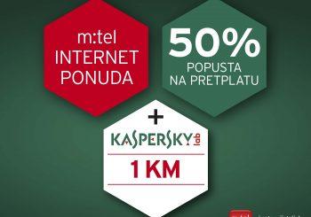 m:tel internet i Kaspersky antivirus – najbolja kombinacija