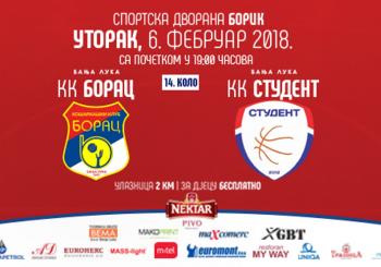 Sutra utakmica KK Borac – KK Student-Igokea