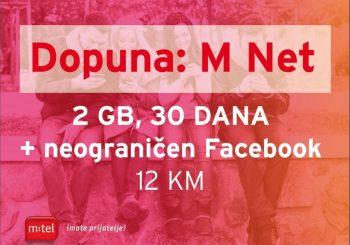 Koristiš Dopunu, želiš neograničeni mobilni internet i Fejsbuk?