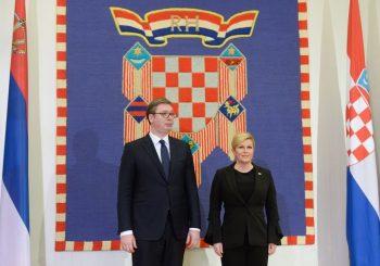 Vučić: Neka sam i konj ako će Srbima biti bolje, Kolinda: Loša klima, ali ja sam tražila susret