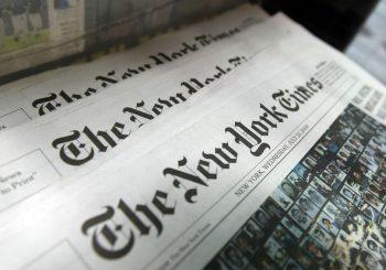 """""""Njujork tajms"""" objavio tekst o RS: """"Milorad Dodik želi da razbije BiH, mirno, ako je moguće"""""""