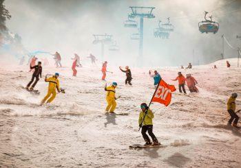 Snijeg iz 1984. se ponovio, a Križaj sa originalnom olimpijskom bakljom pokrenuo Festival 84!