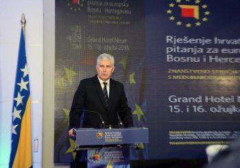 Čović: U BiH ne postoji hrvatsko pitanje, već problem neracionalno uređene zemlje