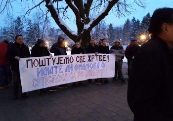 "U Doboju prikazan film o ratu u Maglaju, Obren ga hvalio, ""Veterani RS"" protestovali"