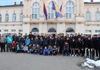 """""""Partizan"""" gostovao u Bijeljini, gradonačelnik organizovao prijem za """"crno-bijele"""""""