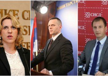 Kandidati za predsjednika RS: SNSD bira između Cvijanovićeve, Lukača i Ćorića