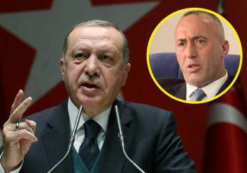 """ERDOGAN BIJESAN NA HARADINAJA """"Od kada štitiš one koji udaraju na Tursku"""""""