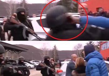 Napad albanskih specijalaca na nenaoružane Srbe u Mitrovačkom dvoru VIDEO