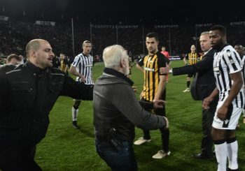 Zbog haosa na meču PAOK – AEK, vlada u Atini prekinula fudbalsko prvenstvo Grčke