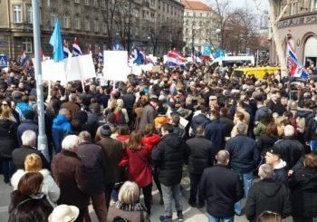 Desnica i Katolička crkva sa protesta u Zagrebu poručili - ne Istanbulskoj konvenciji