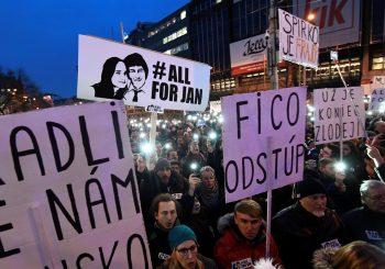 Nakon protesta zbog ubistva novinara, slovački premijer Robert Fico podnio ostavku