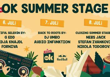 OK SUMMER STAGE Novo osvježenje na Nektar OK Festu