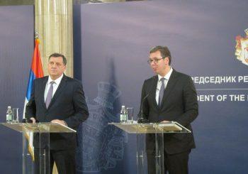SASTANAK VUČIĆ - DODIK Gradovima i opštinama u RS pet miliona evra