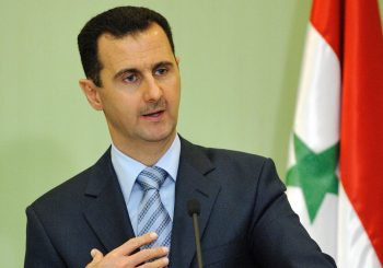 PREDSJEDNIK SIRIJE Agresija Zapada samo će osnažiti volju Damaska da se bori