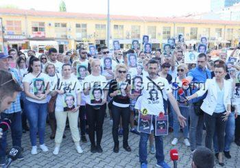 "PRAVDA ZA DAVIDA Održan skup ispred tužilaštva, otac ga nazvao ""najvećim zlom"""