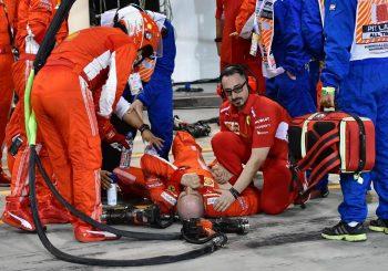 INCIDENT U BAHREINU Kimi Raikonen bolidom povrijedio svog mehaničara