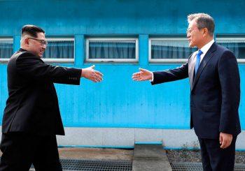 S OBJE STRANE GRANICE Sastali se lideri Sjeverne i Južne Koreje
