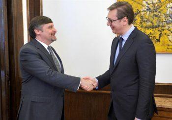 POVIŠENI TONOVI Palmer i Vučić razmijenili oštre riječi o Kosovu, ali i Srpskoj