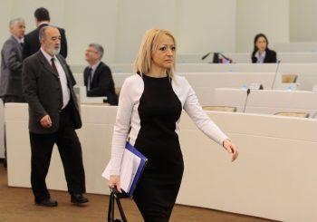 ALEKSANDRA PANDUREVIĆ: Zadovoljna sam što Govedarica nije više predsjednik SDS-a