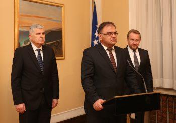 ROTIRAJU DIPLOMATE Članovi Predsjedništva BiH svojim ljudima daju nove mandate