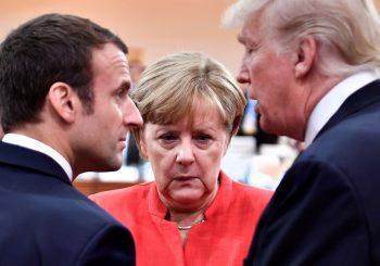 "EVROPA - SAD Nakon ""romanse"" s Makronom, Tramp sa distanciranom Merkelovom"