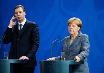 VUČIĆ U BERLINU Za Angelu Merkel, Srbija ima presudnu ulogu na Kosovu i u BiH
