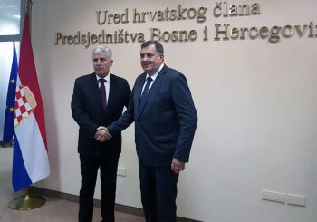 DODIK I ČOVIĆ U MOSTARU Dogovorili postizbornu koaliciju SNSD - HDZ