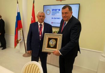 PREDSJEDNIK RS U RUSIJI Sa guvernerom Sankt Peterburga o širenju saradnje