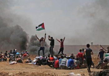 OKRŠAJ U pobuni Palestinaca protiv ambasade SAD u Jerusalimu više od 40 mrtvih