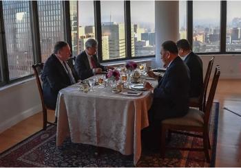 SASTANAK S POMPEOM Glavni službenik Kima Jong-una stigao u Njujork