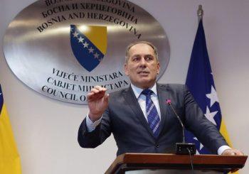 PREDSTAVNIČKI DOM BIH: Mektić u proceduru uputio prijedlog zakona o prestanku mandata VSTS-a
