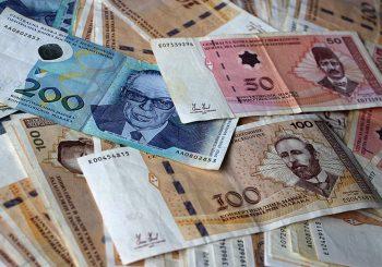 Isplaćeno 41,5 miliona KM za plate radnika u Republici Srpskoj za mart i april