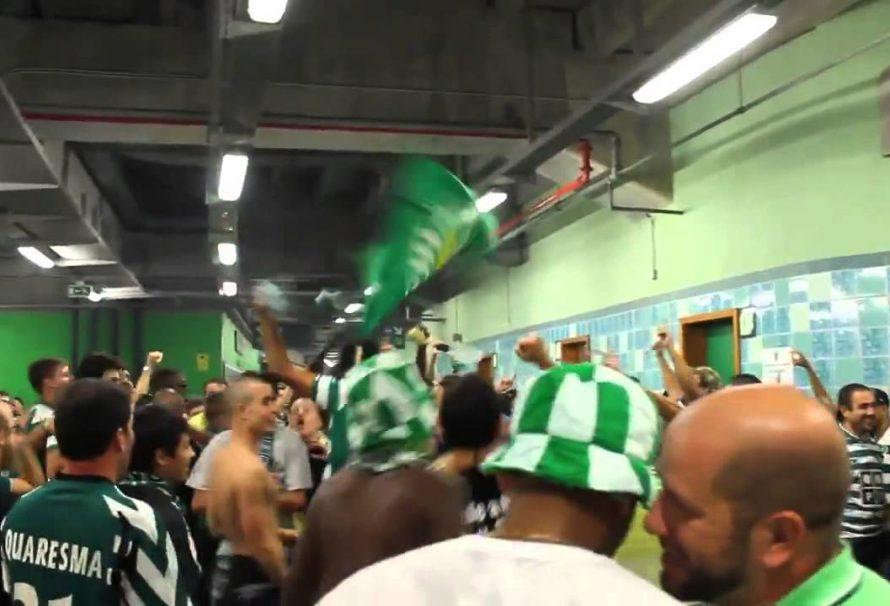 KOBNI TRENING Navijači Sportinga iz Lisabona pretukli fudbalere svog tima