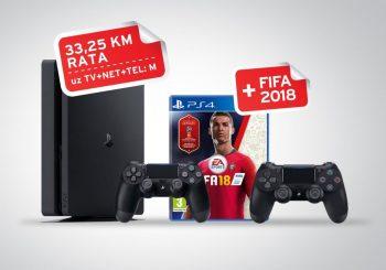 Igraj i pobijedi na Svjetskom prvenstvu: PS4 + FIFA 18