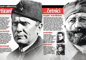 VELIKO ISTRAŽIVANJE Tito i Draža gotovo izjednačeni na skali popularnosti