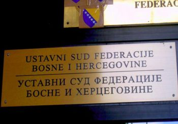 KONSTITUTIVNOST SRBA Ustavni sud FBiH dao rok od šest mjeseci za promjenu ustava tri kantona