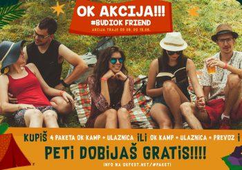 NEKTAR OK FEST 2018 Nova akcija, budi OK frend